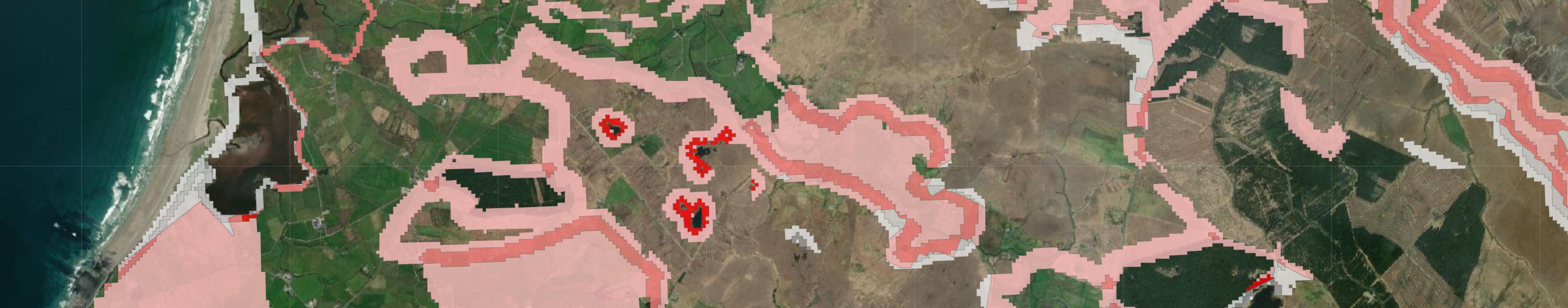 Mayo Dark and Wild Map Extract